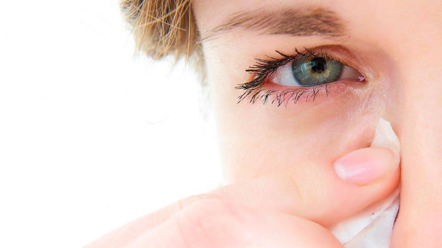 prevent watering eyes