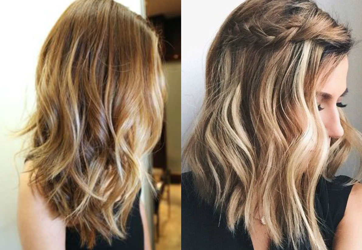 haircut for medium length hair